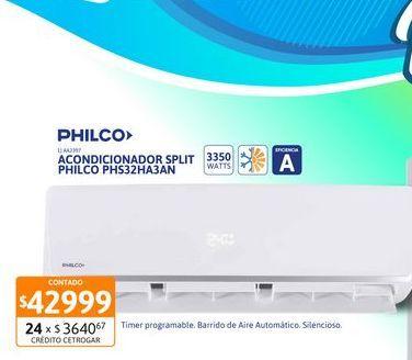 Oferta de Acon Spl Philco 3350W FC EA PHS32HA3AN por $42999