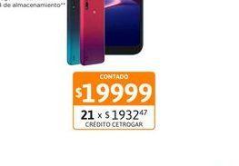 """Oferta de Cel Lib Moto E6S Ed.Esp 6,1"""" 4/64 Rojo por $19999"""