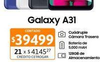 "Oferta de Cel Lib Sams A31 6,4"" 4/128GB Negro por $39499"