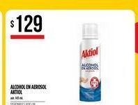 Oferta de Alcohol en aerosol Akitol por $129