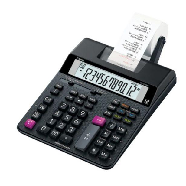 Oferta de Calculadora CASIO HR-150RC (desktop c/impres) por $9322,78