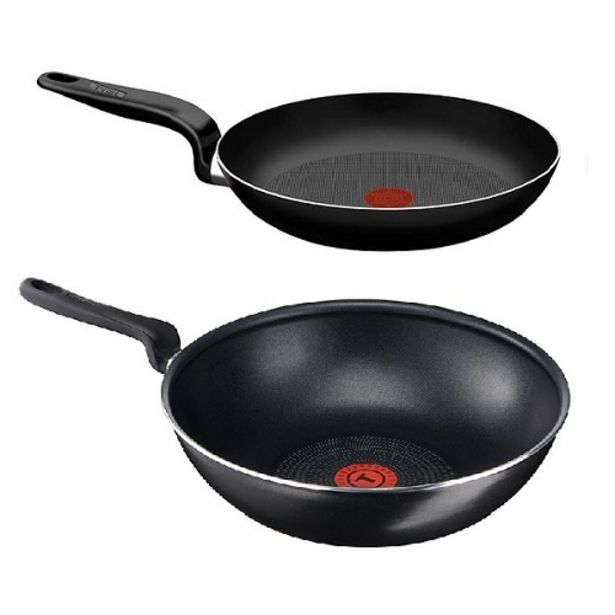Oferta de Sarten T-FAL Pratika T701SET2 +wok por $3199,97