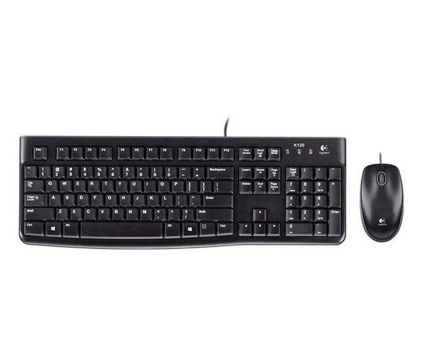 Oferta de Teclado LOGITECH MK120 + mouse USB por $2129,41