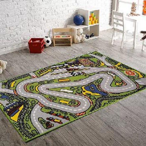 Oferta de Alfombra infantil (0065) child rug 67X120 por $3180,81