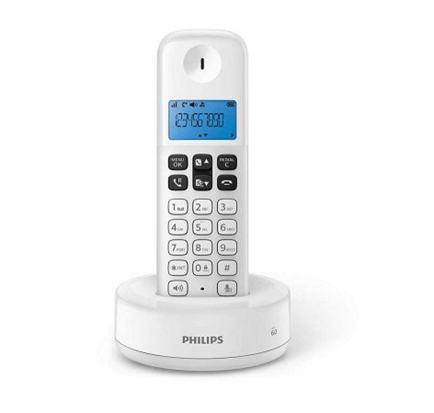 Oferta de Telefono inalambrico PHILIPS D1311W/77 por $3869