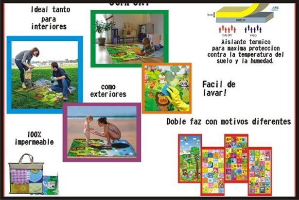 Oferta de Alfombra infantil (205) 120X180 antigolpe por $3768,86