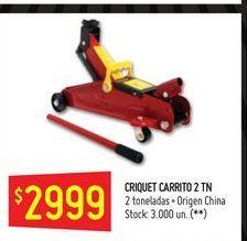 Oferta de Criquet carrito 2 tn  por $2999