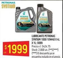 Oferta de Lubricante petronas 1000 10w40 por $1999