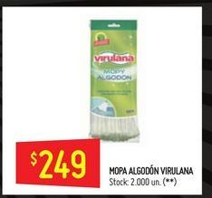 Oferta de Mopa algodon  Virulana por $249