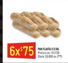 Oferta de Pantuflas 6un  por $75
