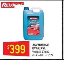 Oferta de Lavaparabrisas 5l  por $399