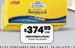 Oferta de Quesopategras  La paulina por $374,99
