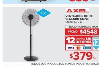 Oferta de Ventilador de pie 16'' por $379
