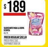 Oferta de Suavizante pra la ropa  Ecovita por $189