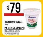 Oferta de Dulce de leche GANDARA  por $79