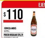 Oferta de Cerveza Andes por $110