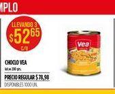 Oferta de Choclo Vea por $52,65