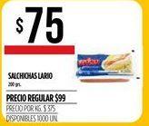 Oferta de Salchichas Lario por $75