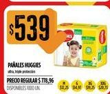 Oferta de Pañales Huggies por $539