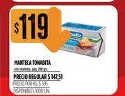 Oferta de Manteca Tonadita por $119