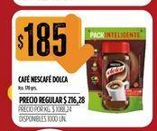 Oferta de Cafe Nescafé Dolca  por $185