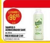 Oferta de Shampoo o acondicionador Suave por $96,85