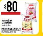 Oferta de Bebida láctea anticolesterol La Serenísima por $80