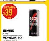 Oferta de Bebida Speed por $39