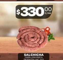 Oferta de Salchicha parrillera  por $330