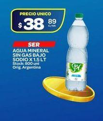 Oferta de Agua mineral sin gas bajo sodio 1,5lt  por $38,89