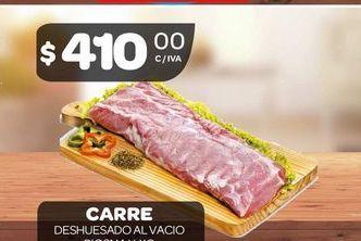 Oferta de Carre de cerdo por $410