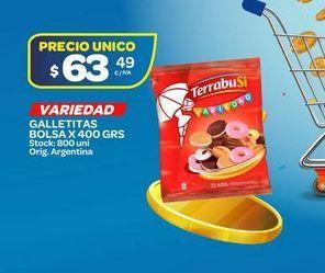 Oferta de Galletas Terrabusi 400grs  por $63,49
