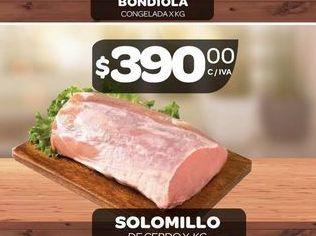 Oferta de Solomillo de cerdo por $390
