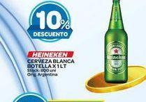 Oferta de Cerveza Heineken 1lt  por