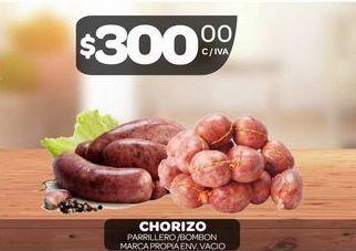 Oferta de Chorizo parrillero  por $300