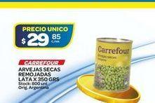Oferta de Arvejas Carrefour remojadas 350gr  por $29,85