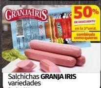 Oferta de Salchichas Granja Iris por