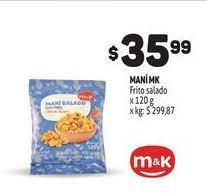 Oferta de Maní frito salado 120g MK  por $35,99