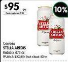 Oferta de Cerveza Stella Artois por