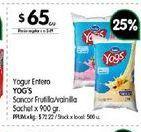 Oferta de Yogur Yogs por
