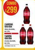 Oferta de Gaseosas Coca cola por $299