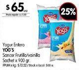 Oferta de Yogur por