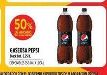 Oferta de Gaseosas Pepsi 2,25lt  por