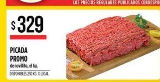 Oferta de Picada promo de novillito  por $329