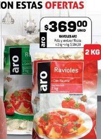 Oferta de Ravioles Aro por $369