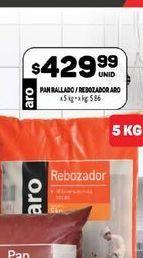 Oferta de Pan rallado /rebozador 5kg  por $429,99
