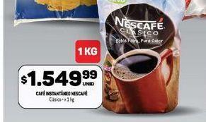 Oferta de Cafe Nescafé por $1549,99