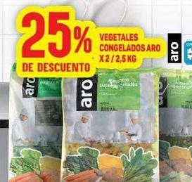Oferta de Vegetales congeladas por