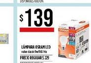 Oferta de Lámpara led Osram por $139