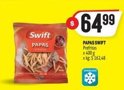 Oferta de Papas fritas Swift 400g por $64,99